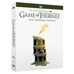 DVD Game Of Thrones Temporada 6 - Sanborns