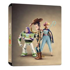 BR Steelbook Blue-Ray + DVD Toy Story 4 - Sanborns