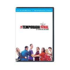 DVD The Big Bang Theory Temporada 12 - Sanborns