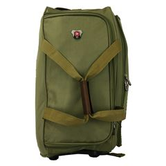 MALETA DUFFLE VERDE 24 RUEDAS SWISS TRAVEL - Sanborns
