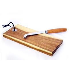 Set para queso con tabla de madera - Sanborns