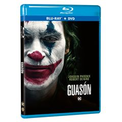 BluRay + DVD Guasón - Sanborns