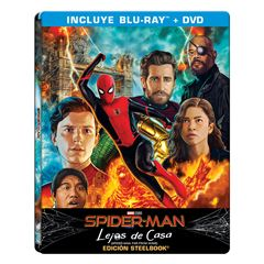 BR Steelbook BluRay + DVD Spider Man Lejos De Casa - Sanborns