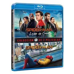 Paquete 2 Películas BluRay Spider Man - Sanborns