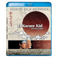 BluRay 3 Pack -  El Karate Kid - Sanborns