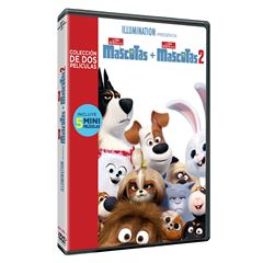 Box Set DVD La Vida Secreta de Tus Mascotas 1 y 2 - Sanborns