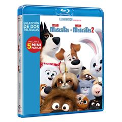 Box Set BluRay La Vida Secreta De Tus Mascotas 1 y 2 - Sanborns