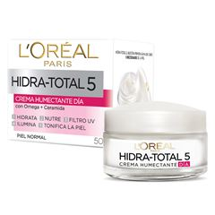 Crema Hidratante Hidra Total5 L'Oréal Paris, 50ml - Sanborns