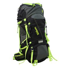 Camping Bag Ie-15104 Black/Green Wilson - Sanborns