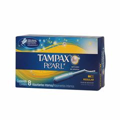 Tampax Pearl Regular C/8 - Sanborns