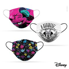 Paquete Cubreboca Bicapa  Reutilizable Disney Minnie Empaque 3 Para Adulto - Sanborns
