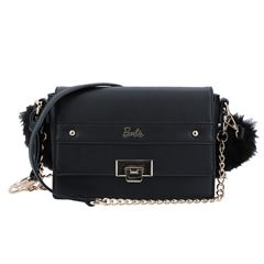 Cross Body Barbie Gorétt Color Negro - Sanborns
