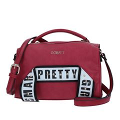 Cross Body Color Rojo Gorétt - Sanborns