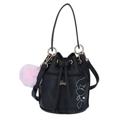 Bolso hobo Barbie negro - Sanborns