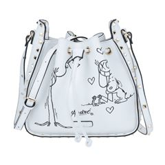 Bolso Snoopy Drawsting blanco - Sanborns