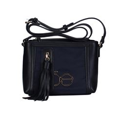 Bolso Cloe Cross Body Negro 3BLCP20094 - Sanborns