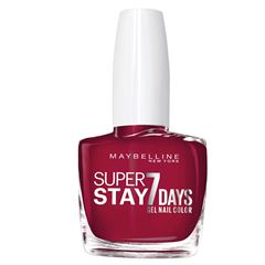 Esmalte de Uñas Efecto Gel Superstay 7 Maybelline 6 Deep Red - Sanborns