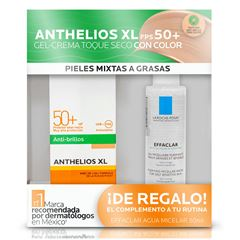 KIT DE PROTECCIÓN SOLAR ANTHELIOS TOQUE SECO CON COLOR - Sanborns