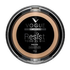 Polvo compacto Vogue Resist Glamour, Tono Natural - Sanborns