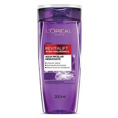 L'Oreal Paris Agua Micelar Con Acido Hialuronico 200 Ml. L'Oreal Paris - Sanborns