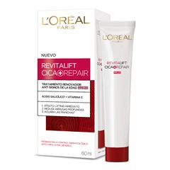 Crema Hidratante Antiarrugas Revitalift Cica+Repair L'Oréal Paris 60ml - Sanborns
