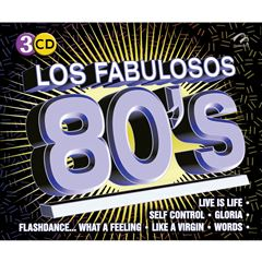 CD Los Fabulosos 80'S - Sanborns
