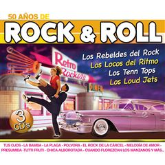 CD3 50 Años de Rock & Roll - Sanborns
