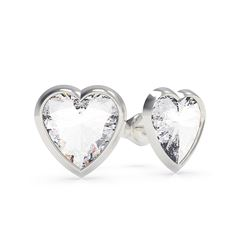 Aretes From Guess With Love Color Plata - Sanborns