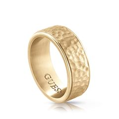 Anillo Guess Guess Hero Para Caballero Color Dorado - Sanborns