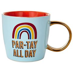 Taza con frase part tay all day - Sanborns