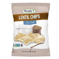 Papas Lentil Sea Salt 23 gramos Simply 7 - Sanborns