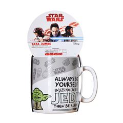 STAR WARS COCOA TAZA JUMBO - Sanborns