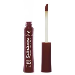 Labial liquido indeleble Colorissimo Vogue, Tono Granate - Sanborns
