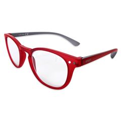 Lente pregraduado.smart Reader round matt red +2.50 - Sanborns