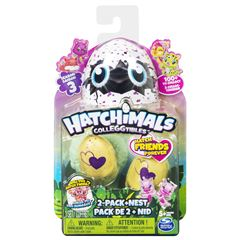 Hatchimals Coleccionables 2 Figuras + Nido T3 - Sanborns