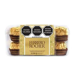 Caja de Chocolates 200 g Ferrero Rocher - Sanborns