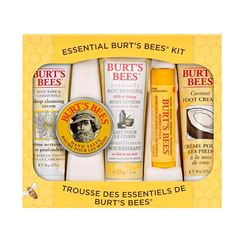 Kit de Regalo Burt's Bees Essentials - Sanborns