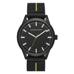 Reloj Skechers Stripe Nylon color Negro SR5128 Para Caballero - Sanborns