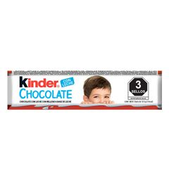 Chocolate Kinder con relleno a base de leche 12.5g - Sanborns