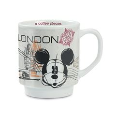 Taza Londres Mickey Mouse In The City Forma Italia - Sanborns