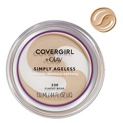 Base de Maquillaje Simply Ageless Classic Beige Covergirl + Olay - Sanborns