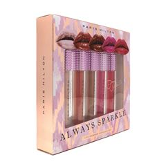 PARIS HILTON Always Sparkle Lipstick 5 Piezas - Sanborns