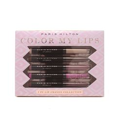 Paris Hilton Glam Lipsticks 5 piezas - Sanborns