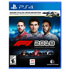 PS4 F1 2018 - Sanborns