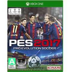 Xbox One Pro Evolution Soccer 2017 - Sanborns