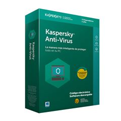 Anti-Virus 3 Usuario 1 Año Kaspersky - Sanborns
