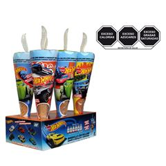 Barquillo C/Relleno Sabor Chocolate y Regalo Sorp Hot Wheels - Sanborns