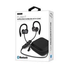 Audífonos Iworld Flight Bluetooth Earbuds Negro - Sanborns