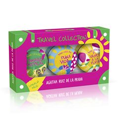 Set para Dama, Agatha Ruiz de la Prada Travel Summer Lipbalms - Sanborns