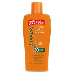 Leche Solar Aloe F-30 400 ml - Sanborns